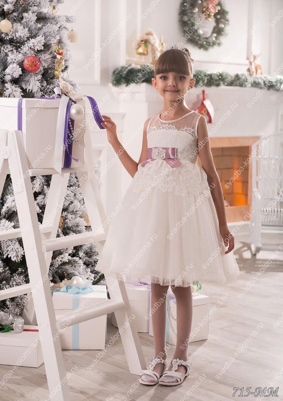 Дизайн детского новогоднего платья