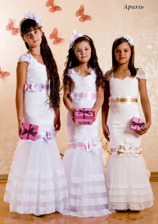 Платье для свадьбы подростков фото